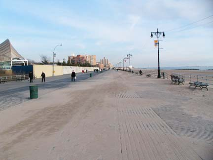 The Riegelmann Boardwalk Runs From Brighton 15th Street In Beach West To 37th At Edge Of Sea Gate Is Named For
