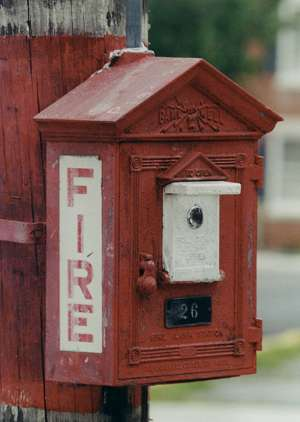 ORANGE ALERT! ANCIENT FIRE ALARMS - Forgotten New York