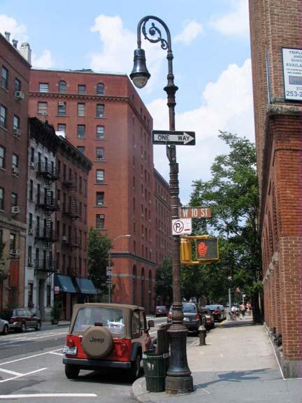 Greenwich Street Post Forgotten New York