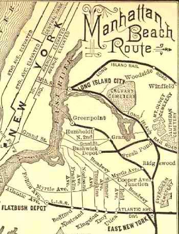 LONG DARK ROAD. The Bay Ridge LIRR branch - Forgotten New York