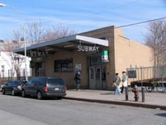 Grant Avenue Subway Exit