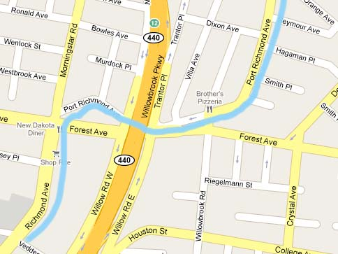 Richmond Traffic Map.Port Richmond Avenue Staten Island Forgotten New York