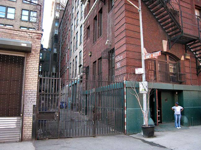 City Of Lafayette >> THE ALLEYS OF SOHO AND NOHO - Forgotten New York