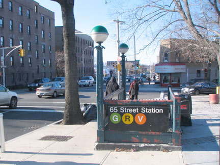 I Have Discussed Former Street Names On This Page And Here At The 65th IND Queens Blvd Line Station We Tangible Evidence Streets
