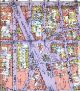 heres a 1929 belcher hyde map of the area including property lines no other brooklyn neighborhoods map has changed as much as downtown brooklyns over