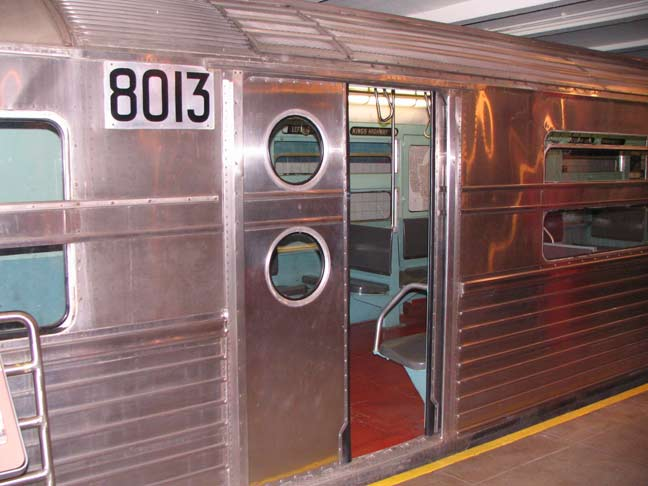 The R-11 developed in 1949 was called the u201cMillion Dollar Trainu201d because each car cost $100000 and most NYC subway lines accommodate ten cars. & TRANSIT MUSEUM COLLECTION Downtown Brooklyn - Forgotten New York