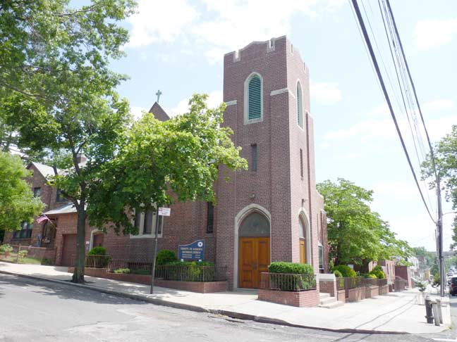 On The SE Corner Is Compact Brick Trinity St Andrews Evangelical Lutheran Church Constructed In 1940 Address 60 06 60th Street