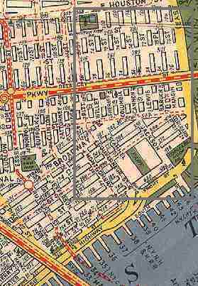 Lower East Side New York Map.Lower East Side Street Necrology Forgotten New York