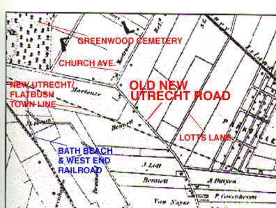 BLYTHEBOURNES COUNTRY LANE The story of Old New Utrecht Road