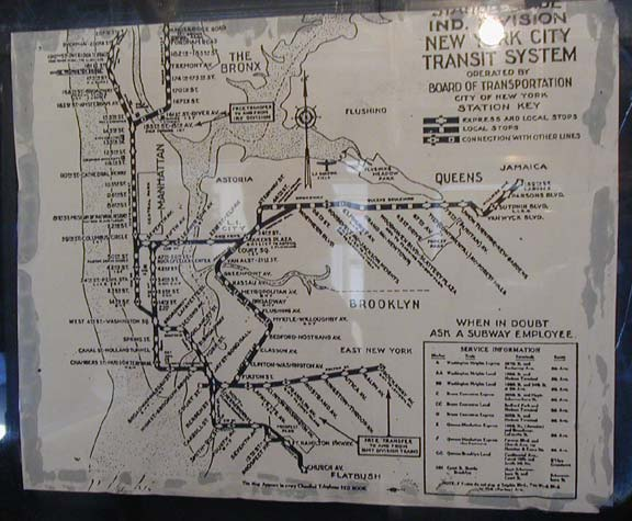New York City Subway Map January 2001.Vintage Subway Cars Forgotten New York