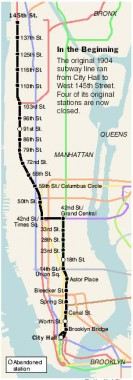 Nyc Subway Map 2006.The Original 28 Subway Stations Part 1 Forgotten New York