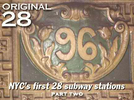 Nyc Subway Map 1910.The Original 28 Subway Stations Part 2 Forgotten New York