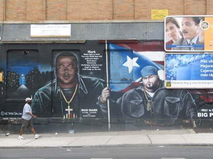 Longwood bronx forgotten new york for Big pun mural bronx