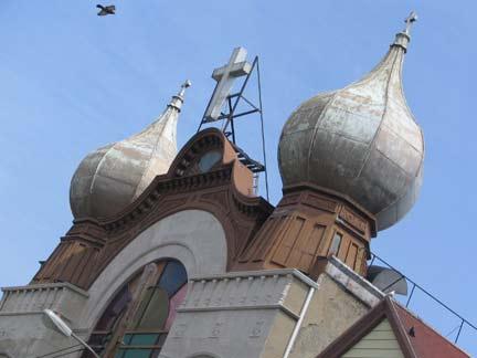 onion domed church in the Bavarian village of Oberau ...   Onion Dome Church Saskatchewan