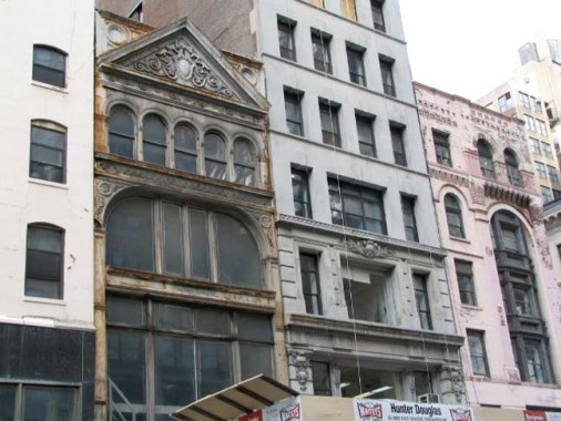 Castiron Front Buildings Are