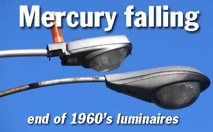 MERCURY FALLING: 1960s luminaires disappearing, in NYC at least ...