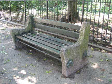 Bench Forgotten New York