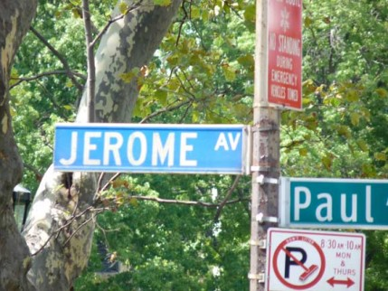 45.jerome.blue.sign