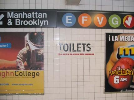 13.toilets