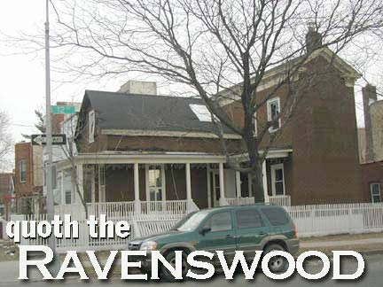 Ravenswood's last farmhouse at 31st Drive, demolished 2004