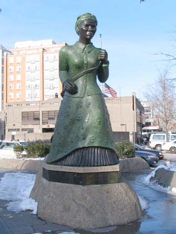 HARRIET TUBMAN MEMORIAL - Forgotten New York