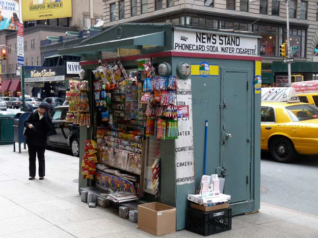 TALE OF TWO NEWSSTANDS - Forgotten New York