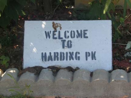 hardingparksign