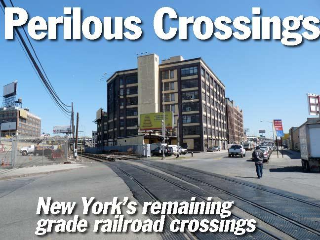 NEW YORK'S REMAINING GRADE RR CROSSINGS - Forgotten New York