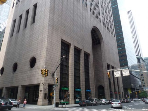 new york corner building