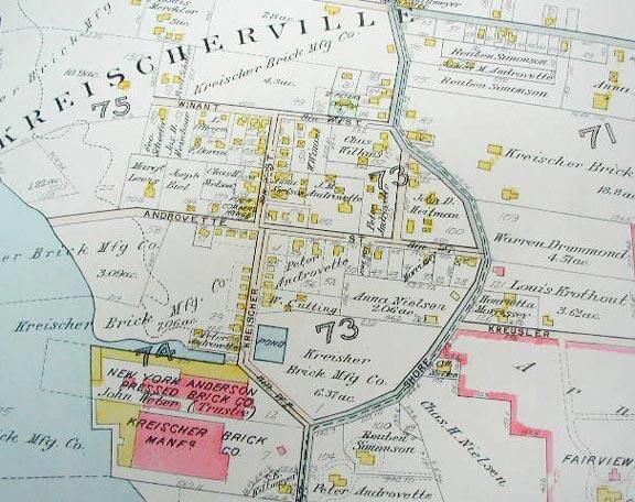 Old Charleston Map