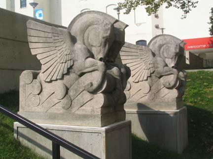 Statue At Coney Island