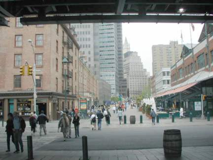 Fulton Is The Main Street Of South Seaport Historic District Which In Your Webmaster S Opinion Just A Little Too Affected And Lays It On