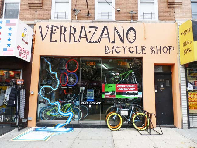 Bike Shops In Brooklyn New York This one for a bike shop on