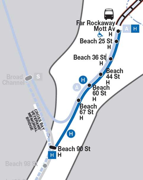 Subway Map Nyc 2012.Return Of The H Train Forgotten New York