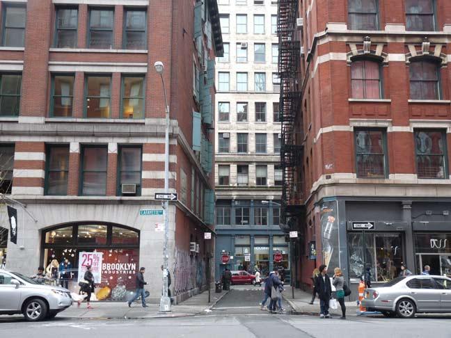 Jersey Street Soho Forgotten New York
