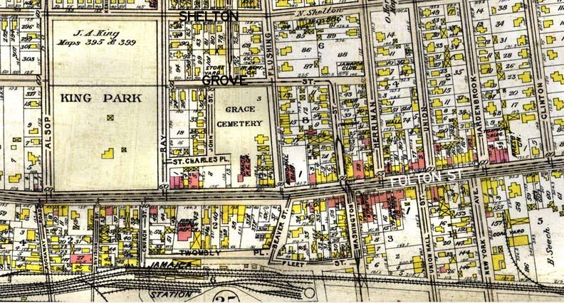 Map Of New York Jamaica.Jamaica Map Forgotten New York