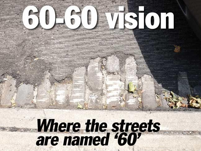 EVERY STREET IS NAMED 60 Maspeth