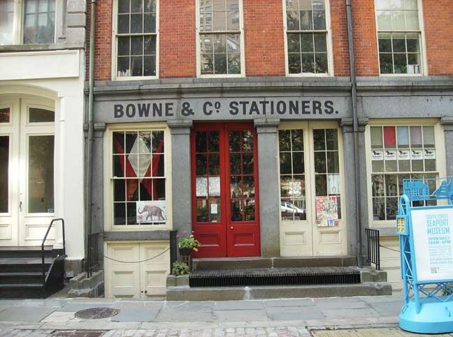 Stationers At 211 Water Street Is A Working Job Print Shop As Well Department Of The South Seaport Museum It Was One First Preservation