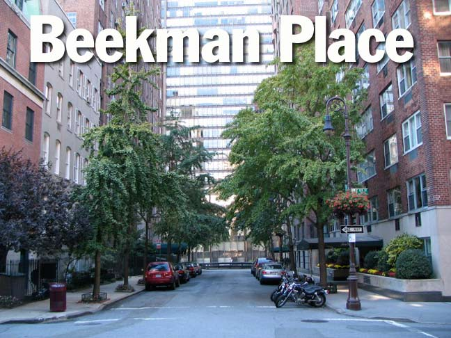 Beekman Place Turtle Bay Forgotten New York