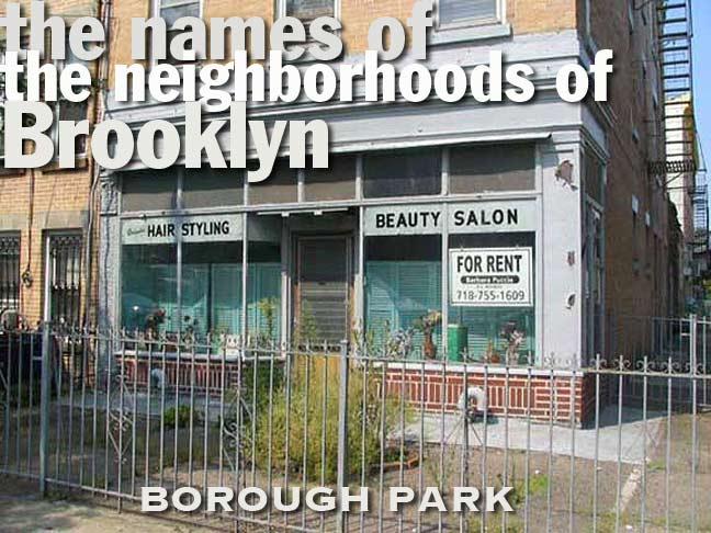 THE NAMES OF THE NEIGHBORHOODS OF BROOKLYN - Forgotten New York