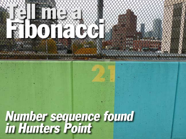 Fibonacci Numbers Hunters Point Forgotten New York