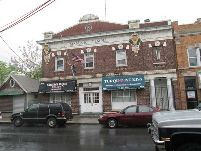 Living In Staten Island S Tottenville Neighborhood: MASONIC TEMPLE, Tottenville