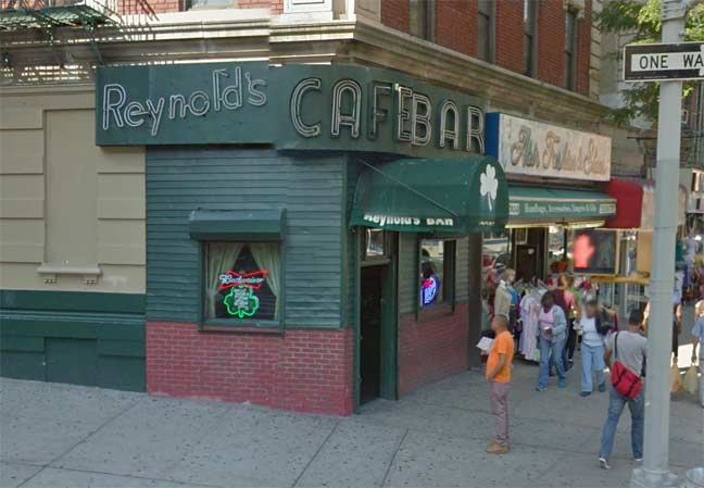 Reynold S Cafe Washington Heights Forgotten New York