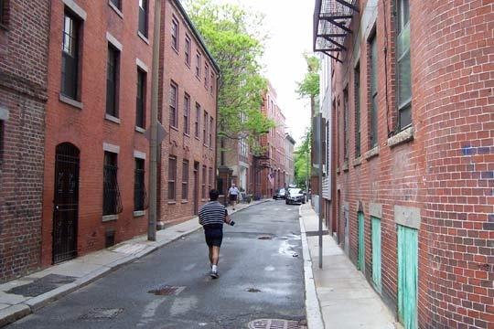 North End Alleys Forgotten New York