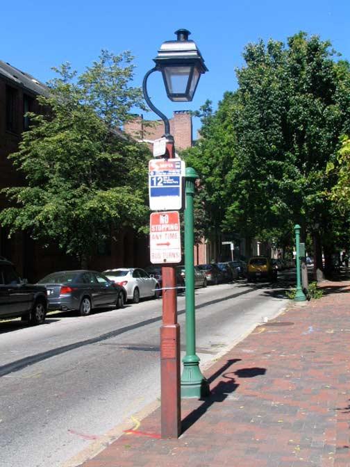 Franklin Street Lamps Philadelphia Forgotten New York