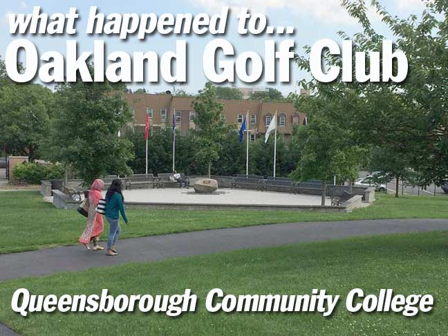 Queensborough Community College Campus Map.Remnants Of The Oakland Golf Club Bayside Forgotten New York