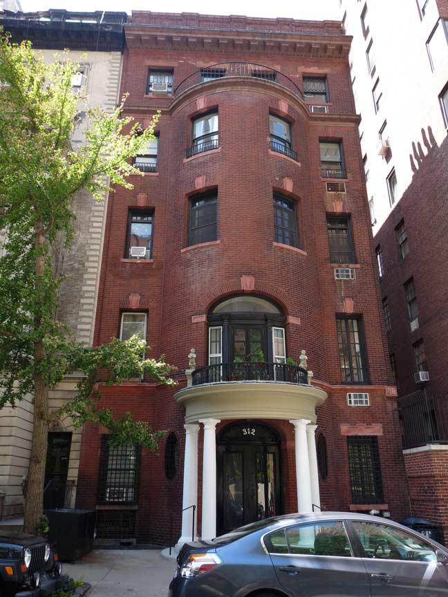 312 West 73rd Street Forgotten New York