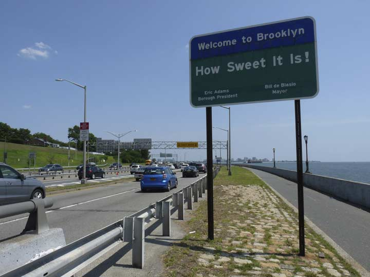 Belt parkway closed today