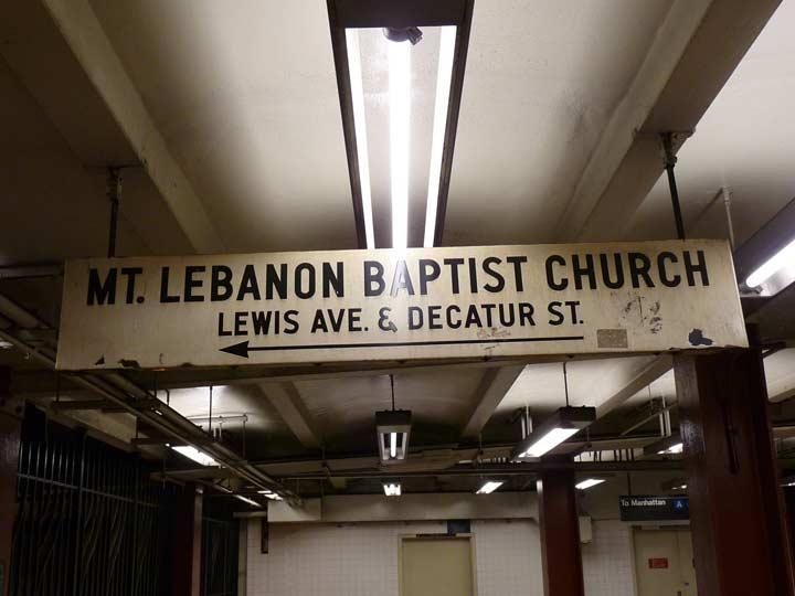 Mount Lebanon Baptist Church Bedford Stuyvesant