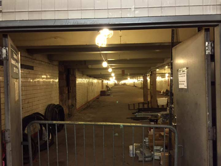 A Friend Was In The 34th Street BMT IND Station Which Connects R N Q Lines B D F M And PATH Trains To New Jersey Got This Photo Of